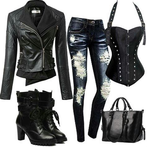 Rock Chic Biker Meets Beatnik In Lace And Leather by Best 25 Biker Ideas On Biker