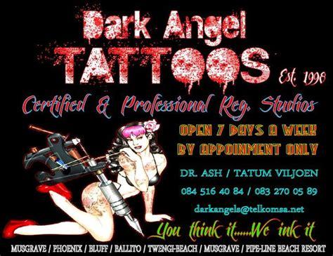 Tattoo Parlour Durban North | dark angel tattoos derma studios durban projects