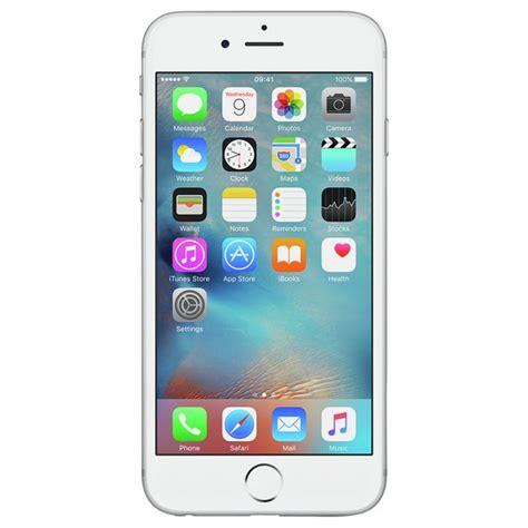 iphone k nh n sim buy sim free apple iphone 6s 64gb mobile phone silver sim free phones argos