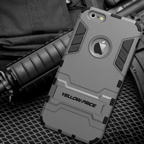 Armor Bumper Army Soft Cover Casing Iphone 6 6s Plus 55 armor luxury iron soft bumper stand cover for apple iphone 6 6s ebay