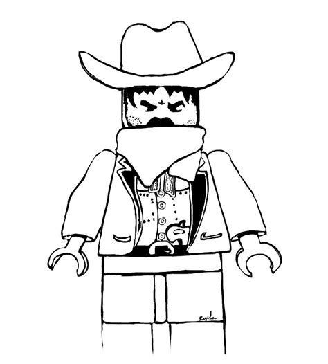 lego cowboy coloring page western lego coloring page by koahkay on deviantart