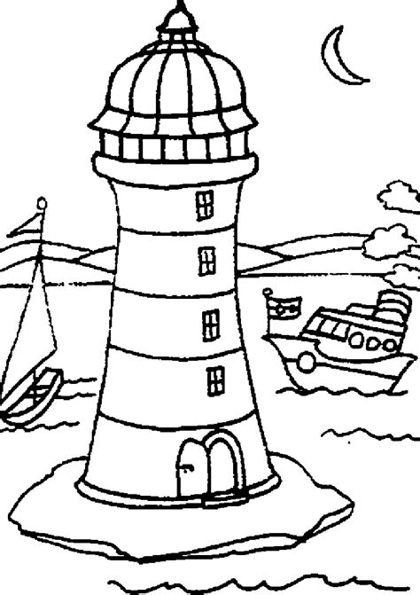 lighthouse printable free coloring pages of lighthouse