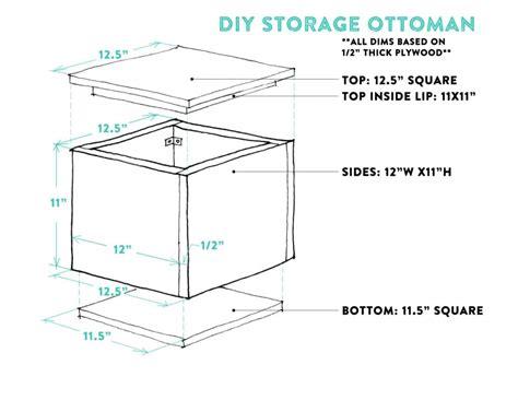 Diy Storage Ottoman Plans Diy Tutorial How To Make A Diy Storage Ottoman Part 1 Capitol Practical Local
