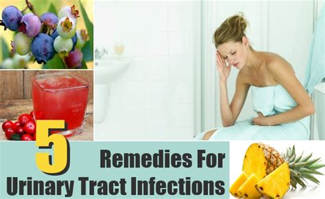 5 best home remedies uti treatments cure for