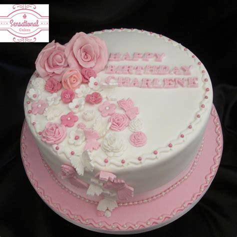 lade decorate pink cake recipe dishmaps