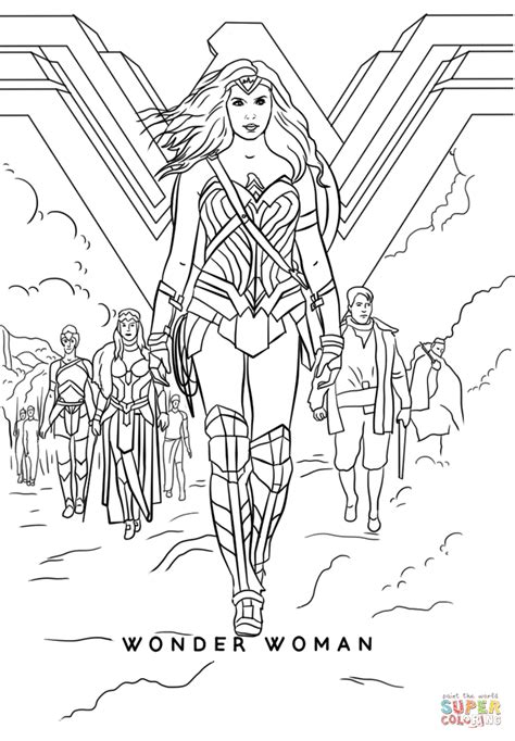 printable coloring pages wonder woman wonder woman movie coloring page free printable coloring