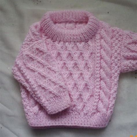 knitting pattern sweater child treabhair pdf knitting pattern for baby or toddler cable