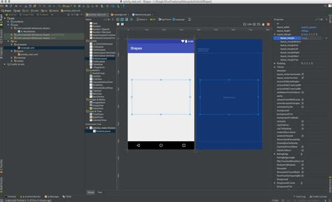 layout click event android android prototyping for designers shapes and click event
