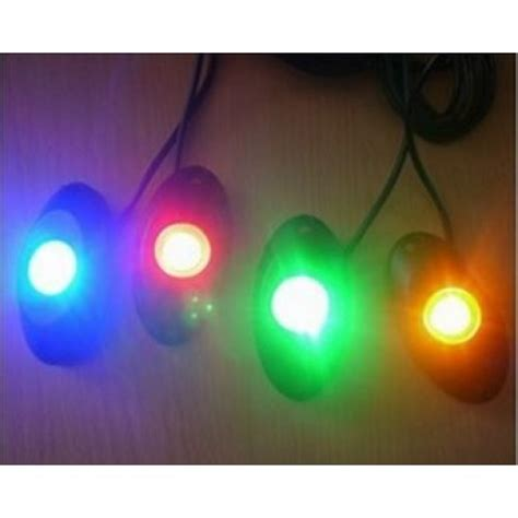 sync lights to kits 4 pods waterproof led light kit rgb w multi modes