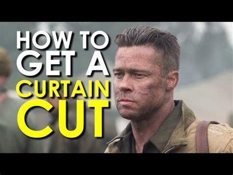 curtain cutundercut haircut art