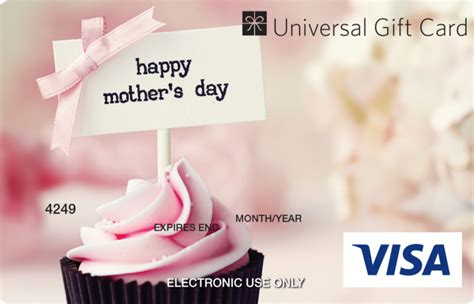 Mothers Day Gift Cards - universal visa gift card mothers day
