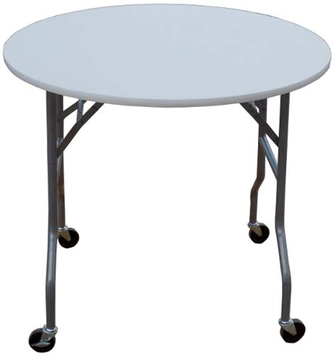 Folding Table On Wheels 36 Inch Folding Cake Table On Wheels