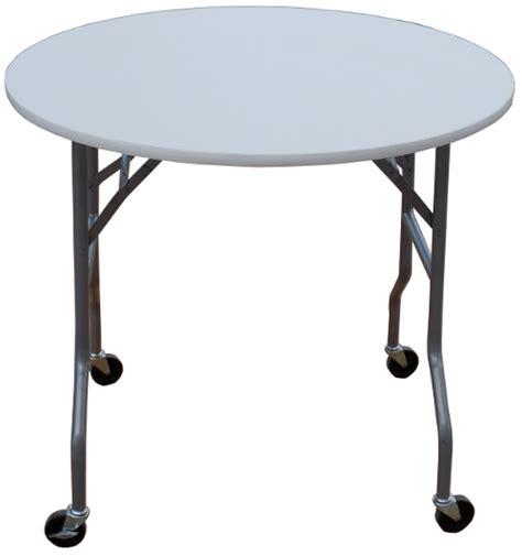 Folding Table On Wheels 36 Inch Folding Cake Table On Wheels