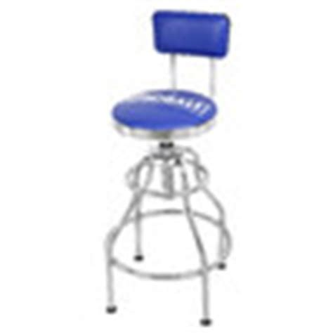 shop kobalt adjustable hydraulic stool at lowes