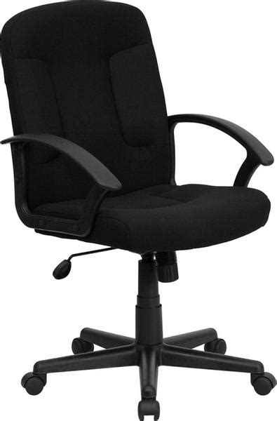 best fabric computer chair mid back black fabric task and computer chair with