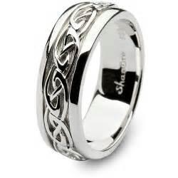 celtic wedding band mens celtic wedding rings shm sd11