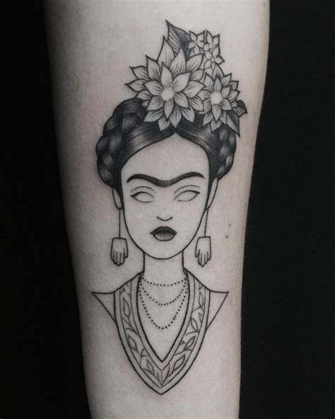 frida kahlo tattoo 31 frida kahlo inspired tattoos that ll make you want to