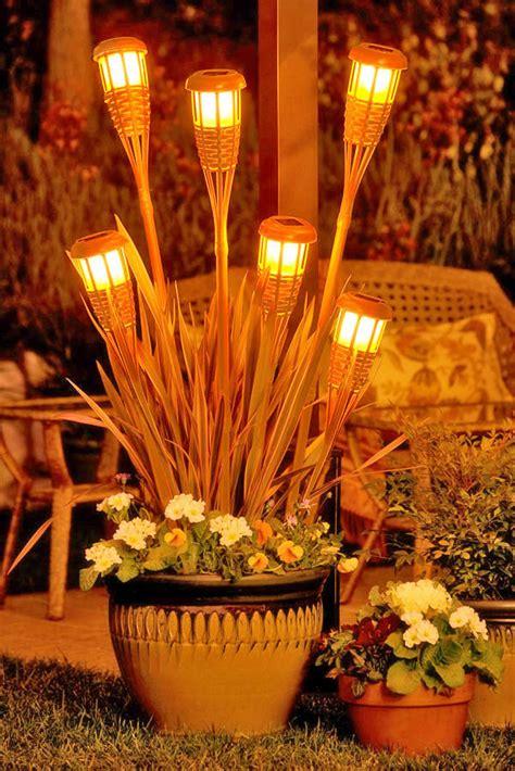Tiki Torch Planter tiki torch planter zomoc flickr