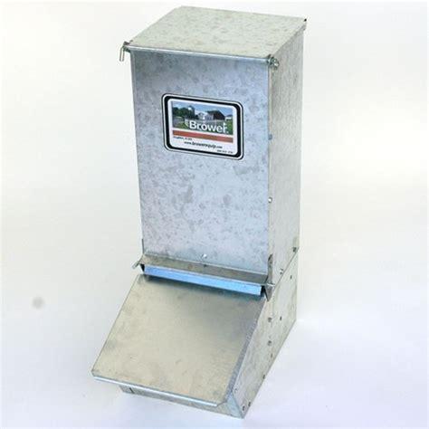 Feeder New Single Brower 11h Single Door Supplement Hog Feeder New Ebay