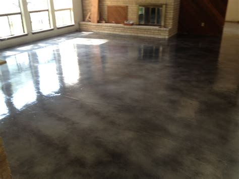 concrete living room floor stained concrete living room living room