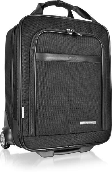 bric s pininfarina trolley suitcase in black lyst