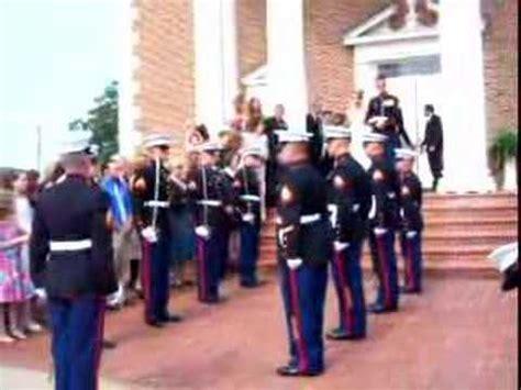 marine corps wedding traditions marine wedding sword ceremony