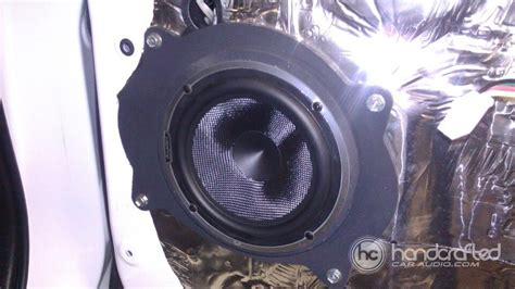 Handcrafted Car Audio - 2011 toyota tundra gets new front speakers and custom