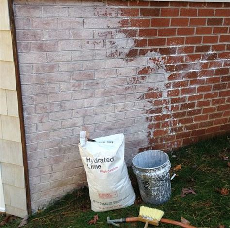 limewash a great alternative to paint for brick home