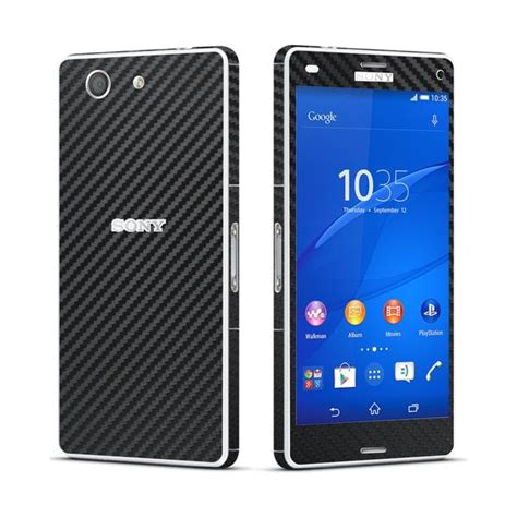 Slim Carbon 3 In 1 Iphone 7 7g Ip7 47 Inchi Soft Shell W T2909 sony xperia z3 compact black carbon fibre skin wrap