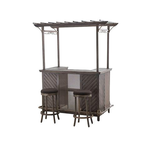 Patio Bar Table Set Best Of Times Patio Bar Sets Outdoor Bar Furniture Patio Furniture The Home Depot