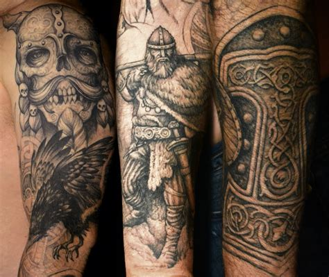 norse tattoos for men viking images designs