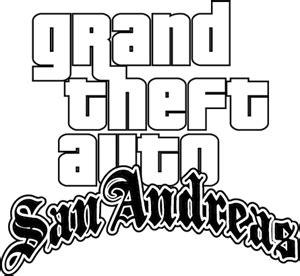 Grand Theft Auto 5 Logo Vector by Grand Theft Auto Sanandreas Logo Vector Eps Free