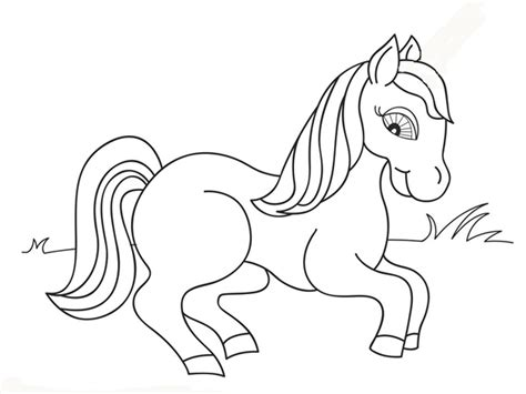 printable anak free pemandangan alam coloring pages