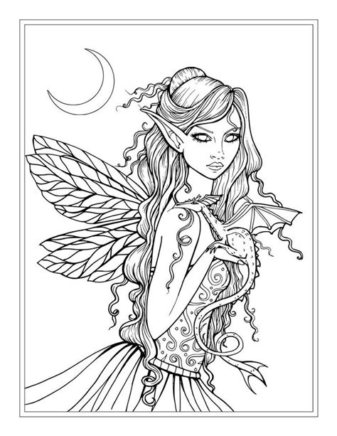 world of fairies coloring book books best 25 coloring pages ideas on