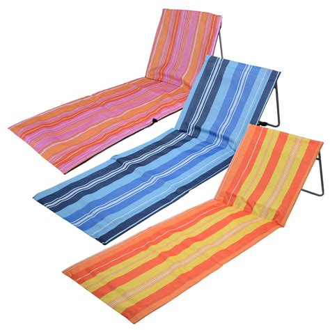 folding mats uk portable folding adjustable mat lounger cing