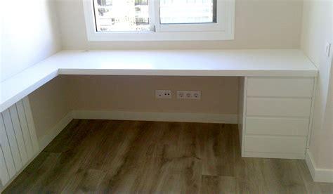 escritorios habitacion escritorio con cajonera a medida para habitaci 243 n mb concept