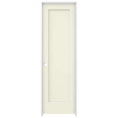 14 X 80 Interior Door by Jeld Wen 24 In X 80 In Vanilla Painted Right