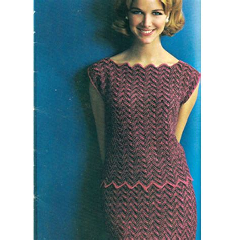 pattern dress knit knitted chevron pattern dress a knitting blog