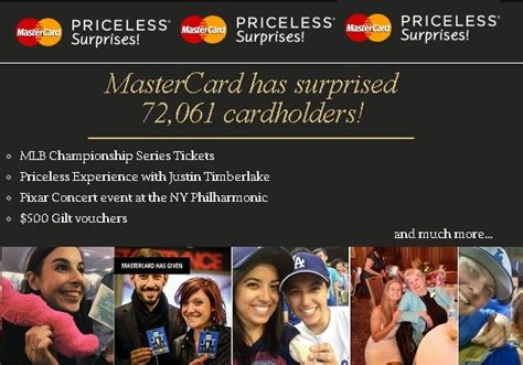 Mastercard Sweepstakes 2015 - mastercard priceless surprises promotion sweepstakesbible
