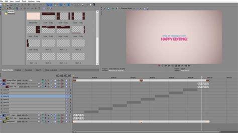 sony vegas slideshow template slideshow vegas pro template