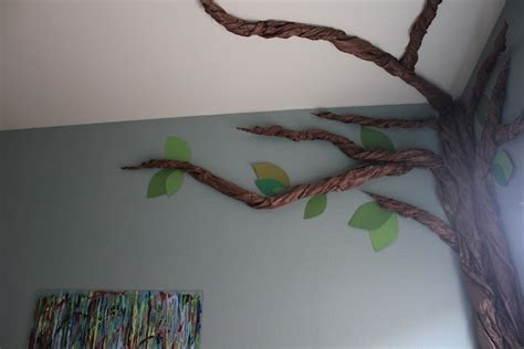 How To Make A Family Tree On Paper For - size butcher paper tree diy speech room