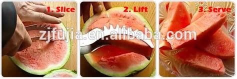 Watermelon Cutter Slice Right Tv Amc newest mould stainless steel watermelon slicer and corer