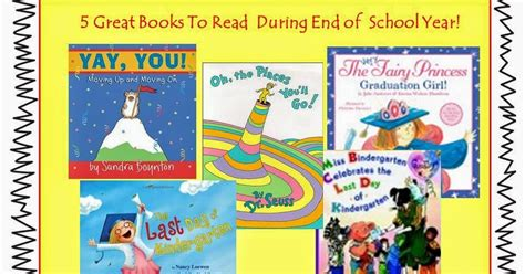 year out a transition story books spoonfuls of kindergarten books for end of school year