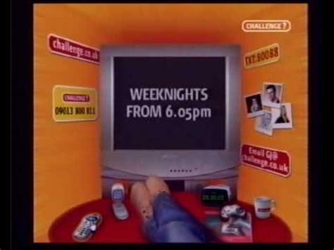 the challenge tv challenge tv continuity 2004