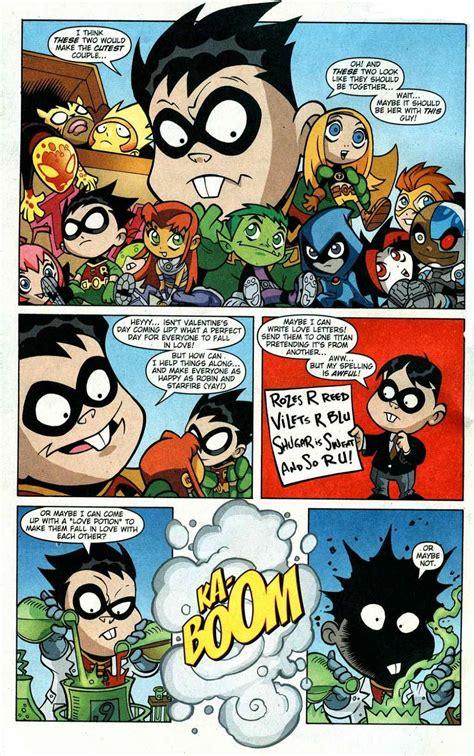 teen titans  comic book series teen titans  issue  stupid cupid