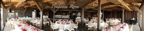 country style wedding venues ponderosa room at pomona valley mining company rustic