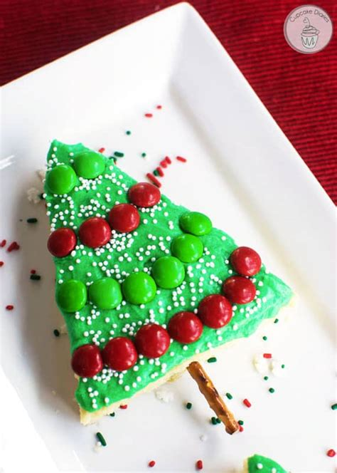 put sugar in xmas tree tree sugar cookie bars