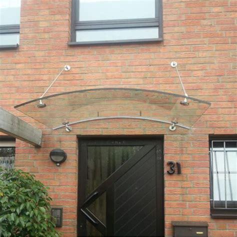 glas haust r preis gew 246 btes haust 252 rvordach aus glas mit runden vordachhaltern