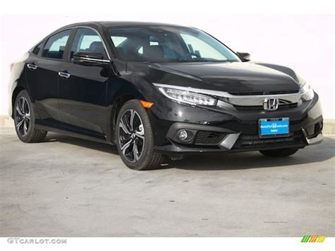 honda civic 2016 black 2016 black pearl honda civic touring sedan