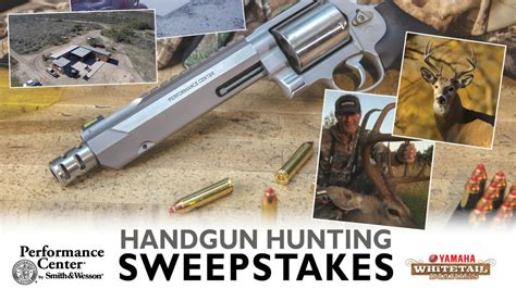 Hunting Sweepstakes 2017 - performance center 174 by smith wesson launches texas whitetail hunt sweepstakes